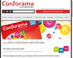 Conforama gift card purchase