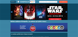 Kinepolis gift card purchase