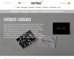 Veritas gift card purchase