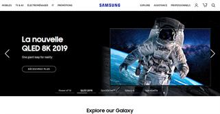 Samsung shopping