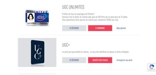 UGC gift card purchase