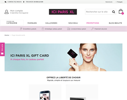 ICI Paris XL gift card purchase