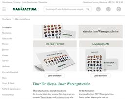Manufactum gift card purchase