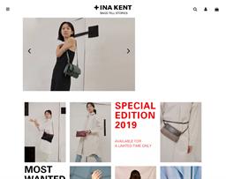 Ina Kent shopping