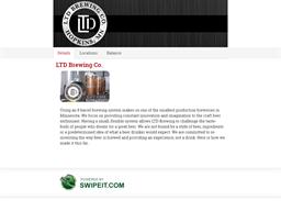 LTD Brewing Co. gift card balance check
