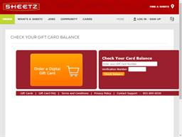 Sheetz gift card purchase