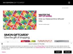 Simon gift card purchase