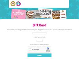 Marble Slab Creamery gift card balance check