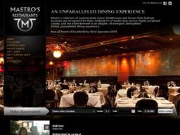 Mastro's Steakhouse shopping