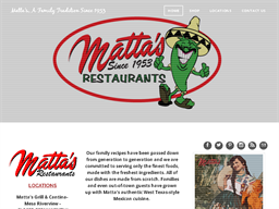 Matta's Restaurants shopping