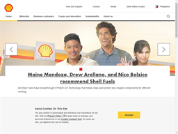 Shell Fleet Card shopping