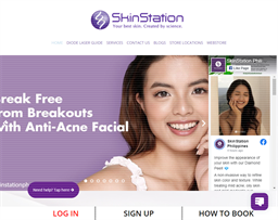 Skin Station shopping
