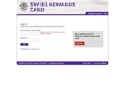 Swirl Rewards shopping