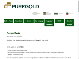 Puregold Perks gift card purchase