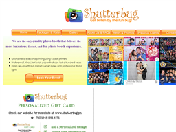 Shutterbug Photo Booth gift card purchase