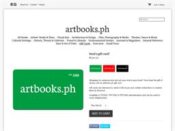 artbooks.ph gift card purchase