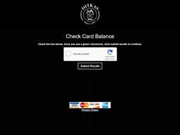 Ditka Restaurants gift card balance check