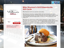 Mike Shannon's Steaks & Seafood gift card purchase