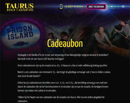 Taurus World of Adventure gift card purchase