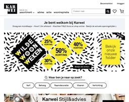 Karwei shopping