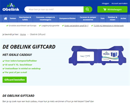 Obelink gift card purchase