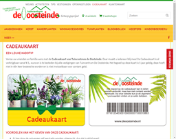 Tuincentrum de Oosteinde gift card purchase
