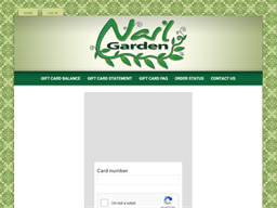 Nail Garden Local Gift Card gift card balance check
