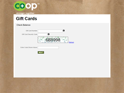 National Co+op Grocers gift card balance check