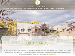 Natirar Ninety Acres gift card purchase