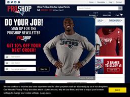 New England Patriots ProShop shopping