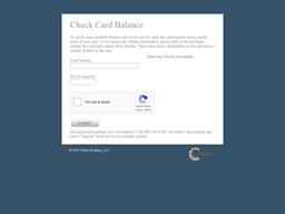 New York Golf Center gift card balance check