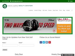 New York Golf Center shopping