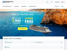 Norwegian Cruise Line shopping