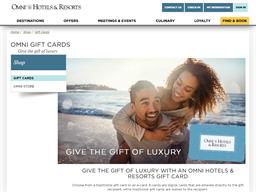 Omni Hotels & Resorts gift card purchase