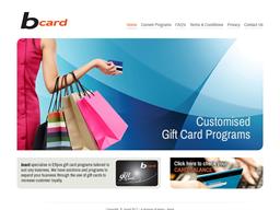 Bcard shopping