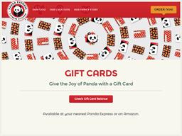 Panda Express gift card purchase