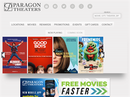 Paragon Theaters shopping