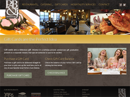 PB&J Restaurants gift card purchase