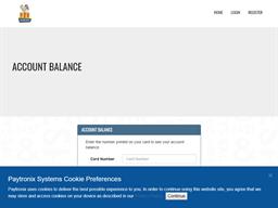 PDQ Restaurants gift card balance check