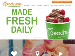 Peachwave Yogurt shopping