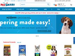 Pet Smart shopping