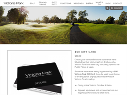 Victoria Park gift card purchase
