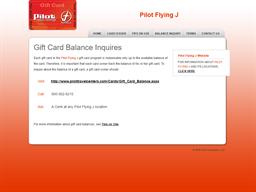Pilot Flying J gift card purchase