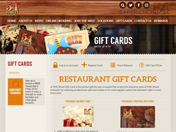 54th St Grill & Bar gift card purchase