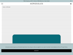 Aerosoles gift card purchase