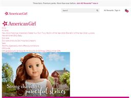 American Girl shopping