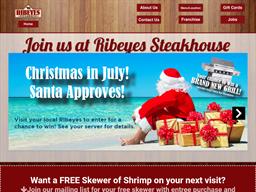 Ribeyes Steakhouse shopping