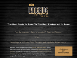 Ring Side Hospitality Group shopping
