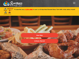 Roosters Wings shopping