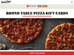 Round Table Pizza gift card purchase